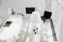 Interieurs wit