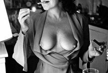 Helmut Newton / Fotky, které se mi líbí