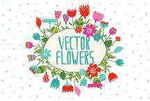 Beautiful Flower Vectors!