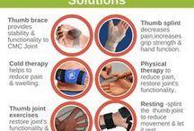 Thumb joint PAIN