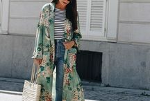 Look kimono longo