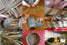 Basket Weaving / Basket weaving techniques. Learn how to weave your own baskets. Rush weaving, willow weaving, basket weaving tools, basket making materials and basket weaving techniques