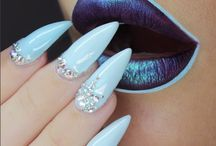Lèvres + Nails art
