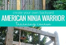 Ninja course ideas