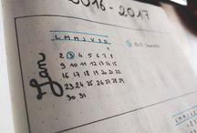 Mon bujo et moi / Bullet journal, journaling, bujo, planner, organisation