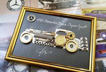 Adela Tarziu Steampunk Art / Steampunk Art and Cars