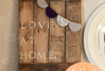 For the Home / by Malerie Simonsen