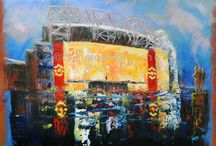 My Football Paintings  / Paintings of Manchester United Football Club