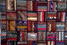 из галстуков