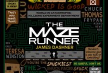The maze runner / Thomas, Minho & Newt