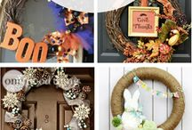 Seasonal Wreath & DIY