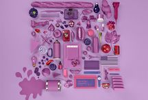 Home Decorating with Radiant Orchid / Great ideas on how to decorate your home with Radiant Orchid, Pantone's 2014 color of the year.