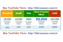 Buy YouTube Views / Buy YouTube Views and become famous on YouTube.