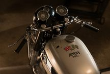 Motorcycle / by Luke Cheverie
