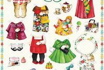 Aankleedpoppetjes
