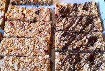 Bars / Granola bars baked and not baked