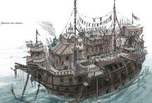 Pirate refs (drawings)