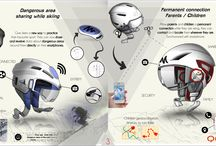 QUECHUA connected helmet / two connected helmet :  one to prevent dangerous area while skiing (like waze app for car) second one to improve connection beetwin parents and children, offer them the possibility to locate and contact them together
