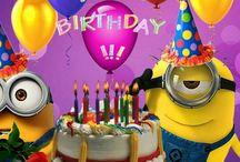 Fødselsdags hilsener