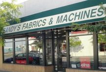 Sandy's Fabrics and Machines / At Sandy's Fabrics and Machines we take great pride in the project we create! Come check the great things we do in class!