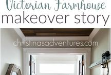 fixer upper before & after / Everyone loves a good makeover story!  Here's the best fixer upper before and after pictures to inspire your own home makeover