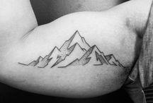 tatuagem montanha