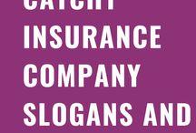 Catchy Insurance Company Slogans & Taglines