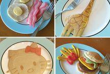 Pancakes art / Pancakes art