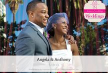 Featured Real Wedding: Angela & Anthony {from the Summer/Fall 2014 Issue of Real Weddings Magazine} / Angela & Anthony-Featured Real Wedding from the Summer/Fall 2014 issue of Real Weddings Magazine, www.realweddingsmag.com. Photos by and copyright www.EyeConnoisseur.com; Venue: www.CitizenHotel.com; Bridal Attire: www.HofBridal.com; Bridesmaids' Attire: wwww.TheBridalBox.net; Rentals: www.AmericasPartyRental.com. See entire post here: http://www.realweddingsmag.com/featured-real-wedding-angela-anthony-from-the-summerfall-2014-issue-of-real-weddings-magazine/