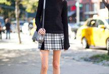 Ways To Wear Tartan / by Mademoiselle Robot