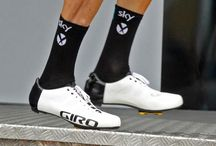 Cycling shoes and apparel