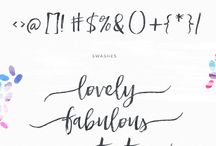 Calligraphy / Lettering inspiration