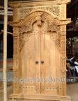 Pintu Gebyok ( Art Wood Carved Door )