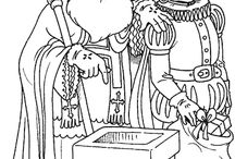 Coloring pages St.Nicolaas