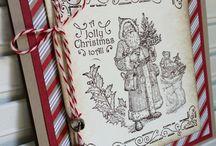 carte Noël stampin up