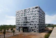 predio formato cubo