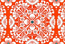Fabric - bilateral symmetry / by Suzanne Mallery