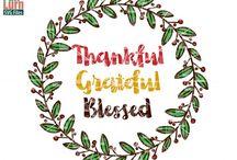 Thanksgiving SVG DXF