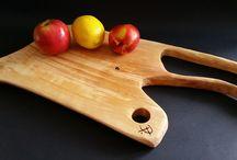 Moje deski :) / Deski do serwowania serów , wędlin....