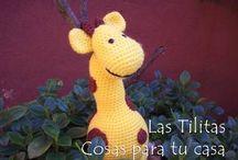 ♥ Jirafitas Amarillas ♥ / Hermosas jirafitas amarillas...