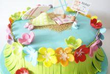 Aloha cake Hawaiian