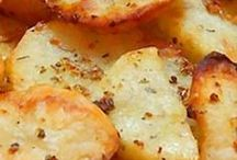 Garlic potatoes