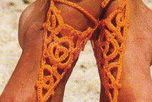 Voetsieraden / Leuke voetsieraden voor de zomer, gehaakt of met kralen