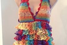 DIY: Sashay yarn! / Ideas on what to use the sashay yarn for! / by Christina Walton