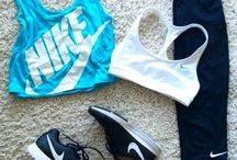 Workout clothing / Might as well look cute when excising right?