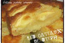 Gâteau aux pommes à la crème d'amandes