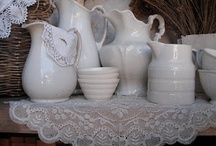 ~ Ironstone, White Pottery ~ / I love everything white, especially white Ironstone<3 / by Angie Sherrill Joyce