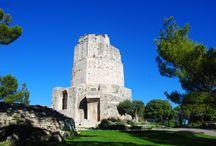 Tour Magne et Jardins de la Fontaine - Nîmes - France