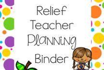 For relief teachers