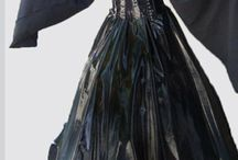Maleficent costume/Witch dress/Witch costume